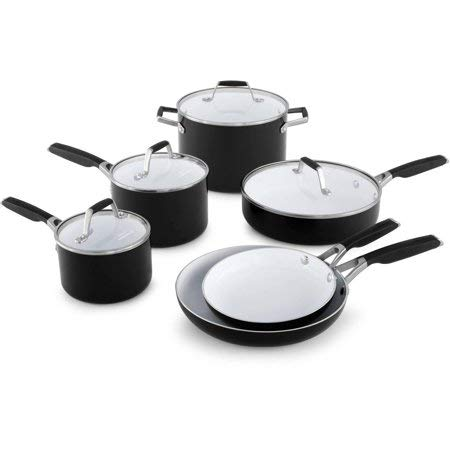 Select by Calphalon Ceramic Nonstick 10-piece Cookware Set