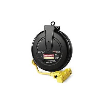 retractable extension cord craftsman 30 foot 14 retractable extension cord reel 13023