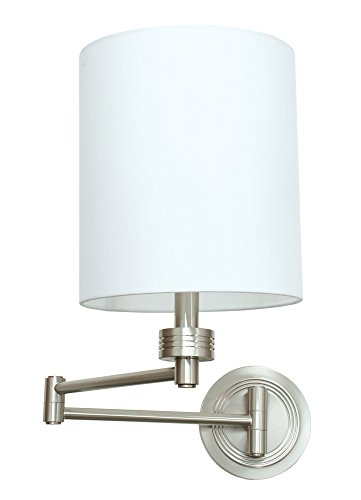 (House of Troy WS775-SN Wall Swing Arm Lamp, Satin Nickel)