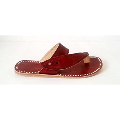 5c2e33cc797 chic Leather Flipflops Ladies Flat Handmade Shoes Women Slippers ladies  Sandals Shoes
