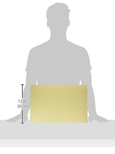 School Smart 85502 Tagboard - Light Weight - 12 x 18 - 100 Sheets - Manila by School Smart (Image #2)