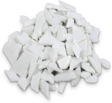 Fuseworks Glass Mosaic Chunks 3 oz White