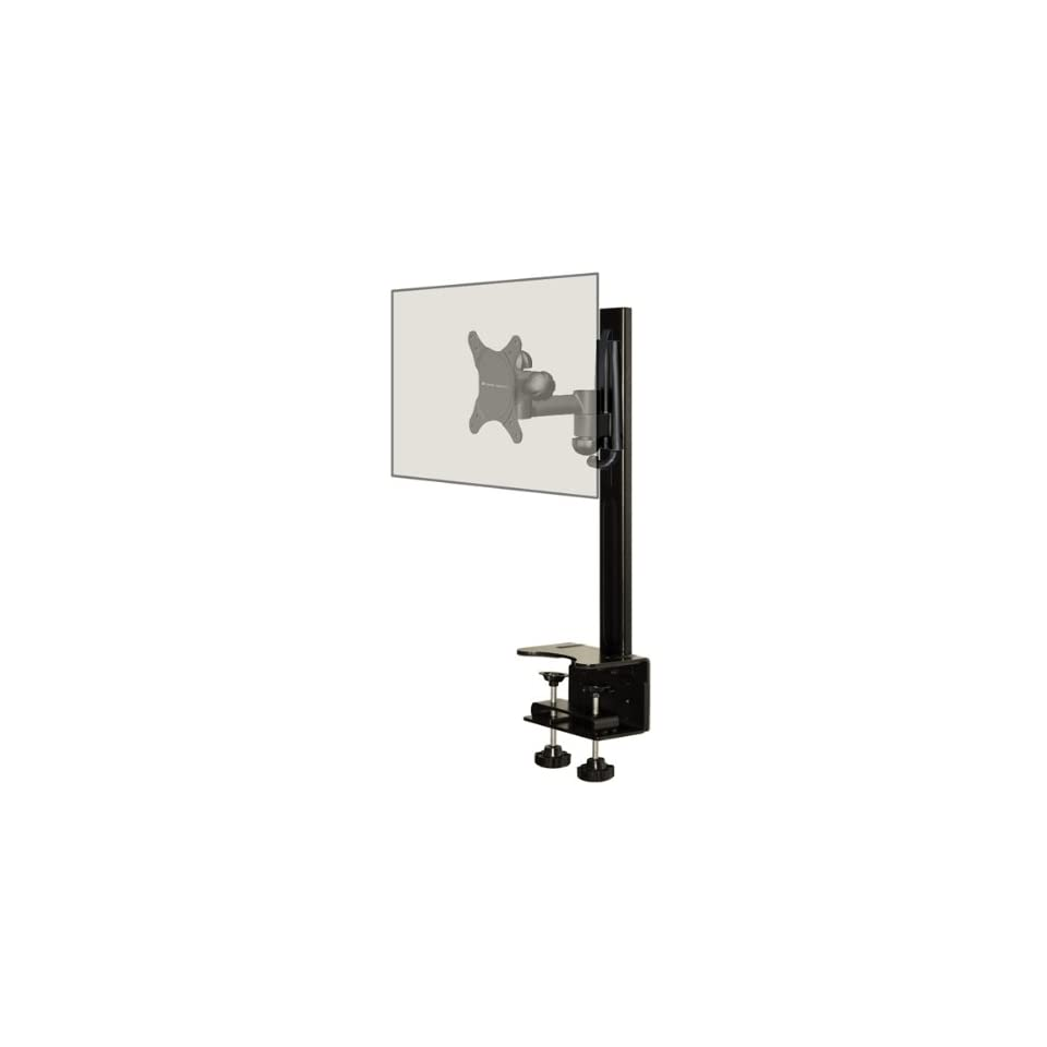 Atlas Desktop Mount With a Full Motion Single Arm Mount Fits 10  30 Monitors/TVs
