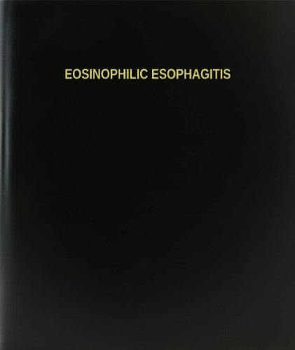 BookFactory® Eosinophilic Esophagitis Log Book / Journal / Logbook
