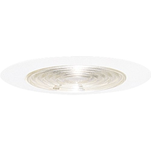 Progress Lighting P8038-83FB Regressed Fresnel Trim UL/CUL Listed For Wet Locations, White
