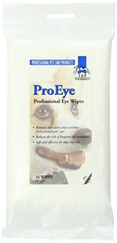 Top Performance Eye Wipe Bag, 24-Pack