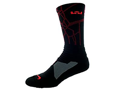 Nike Lebron Hyper Elite Basketball Crew Socks Mens