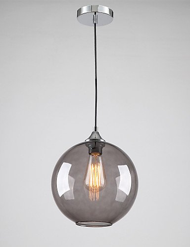 Lina modern glass pendant light in round smoke grey bubble design lina modern glass pendant light in round smoke grey bubble design 220 240v aloadofball Images
