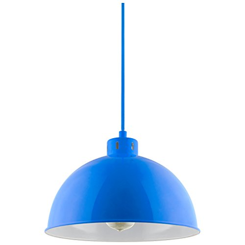 Blue Pendant Ceiling Light in US - 3