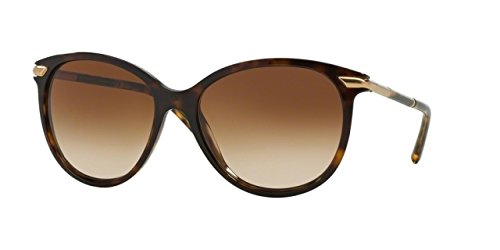 Burberry BE4186 300213 Dark Havana BE4186 Cats Eyes Sunglasses Lens Category - Eye Women's Sunglasses Burberry Cat