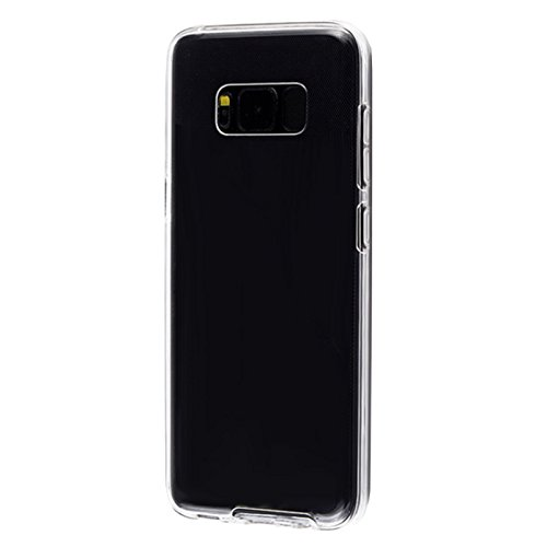 EximMobile 360° Full Handyhülle für Apple iPhone 8 Plus | Case für vorne und hinten | Silikon Schutzhülle | Handytasche mit beidseitigem Schutz | Cover in transparent | Handy Tasche Etui Hülle