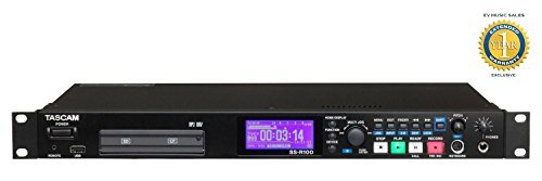 Tascam SS-R100 Solid State Digital Audio Recorder with 1 Year Free Extended Warranty by Tascam