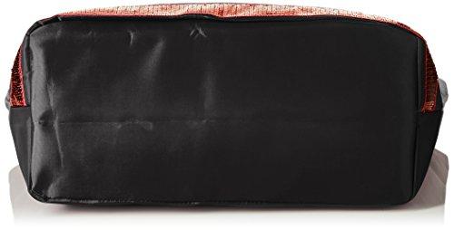 Temps noir Para Le Glitter nbsp; Tela Des 5 Bolso Mujer Taille De Unique Noir Negro rouge Cerises 9p01 FOCOwdq