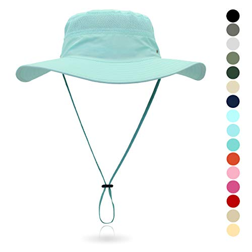 d5c611c4aa5379 3, belababy Outdoor Sun Hat Quick-Dry Breathable Mesh Hat Camping Cap Coral  Blue