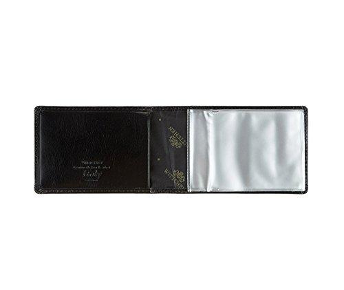 WITTCHEN caso, Nero, Dimensione: 7x11 cm - Materiale: Pelle di grano - 21-2-173-1