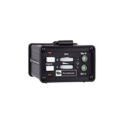 Pro Intercom BP2   Two Circuit Monoaural Portable Headset Station Beltpack by Pro Intercom