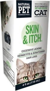 Tomlyn Cat Skin & Itch (4oz) for Excessive Licking Dermatitis & Scratching Hair Loss