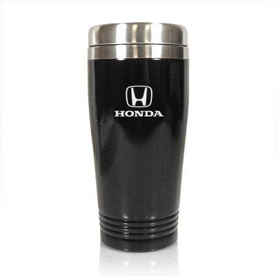 14 Oz Auto Mug - Honda Logo 14oz Black Stainless Steel Travel Mug