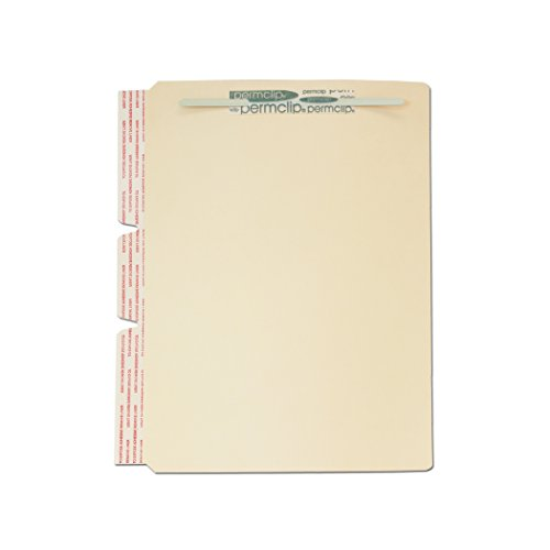 Medical Arts Press Match File Folder Dividers with Side Flap and Permclip Fasteners on Top of Both Sides (100/Box)