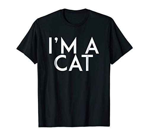 I'm A Cat T-Shirt Halloween Costume Shirt -