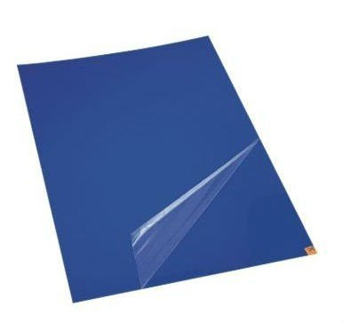 10 mats/Box, 30 Layers per Pad, 18'' x 36'', 4.5 C Blue Sticky mat, Cleanroom Tacky Mats/PVC Sticky Mats/Adhesive Pads, Used for Floor (for Home/Laboratories/Medical Offices use) by Cleanmo