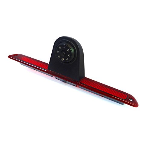 Canying Car Brake Light Backup Camera for Mercedes-Benz Sprinter/VW Crafter Vans LED Light Parking