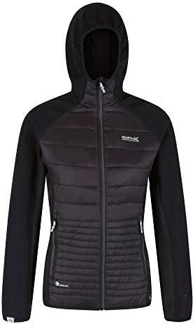 Regatta vrouwen Wms Andreson V Stretch zijpanelen gesoleerd gemakkelijk Compressible lichtgewicht capuchon Softshell jas
