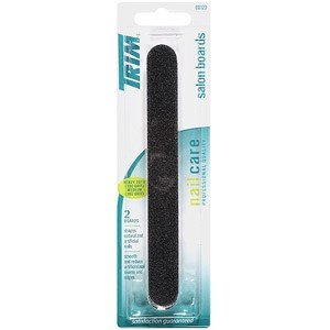 (Trim Salon Board Blk 2pk Size Ea Trim Salon Boards Black Heavy Duty (100 Grit) & Medium (180 Grit) 00123 2ct)