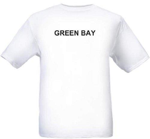 GREEN BAY - City-series - White T-shirt - size -