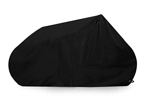 Goose Motorcycle Cover Premium Grade Lockable Motorbike Cover - Heavy Duty 210D Waterproof Oxford Fabric - The Ultimate Motorcycle Protection - Black - Various sizes (4XL, Black)