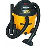 Shop-Vac 9651200 5.0-Peak HP Pro Series Wet or Dry Vacuum,...