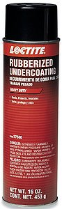 LOCTITE Undercoating - Loctite Rubberized Undercoating (16 oz. Aerosol Can) ()
