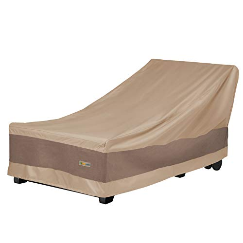 Duck Covers Elegant Patio Chaise Lounge Cover, 74-Inch (Outside Lounge)