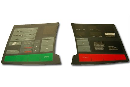 ProForm Console Overlay for the Frontrunner Treadmill. Model Number (Proform Treadmill Console)