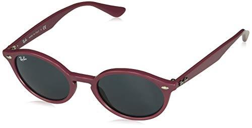 Ray-Ban RB4315 Oval Sunglasses, Burgundy/Dark Grey, 51 ()
