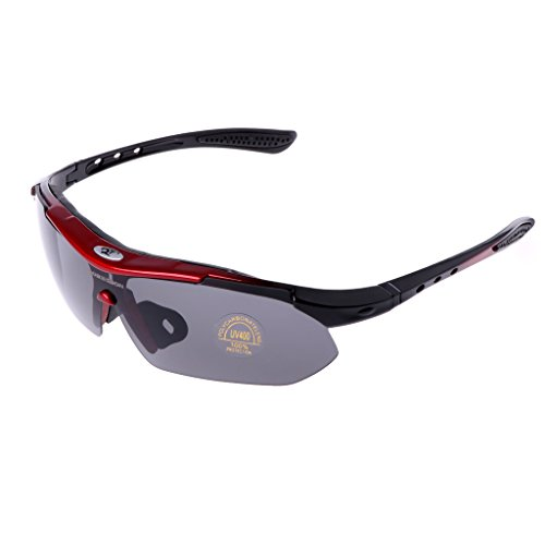 ULKEME Outdoor Fishing Cycling Bicycle Bike Riding Sunglasses Eyewear Goggle UV400 Lens - Autumn Sunglasses