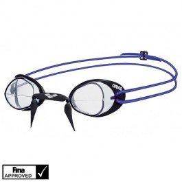 Arena Swedix–Gafas de natación Transparente, Color Azul