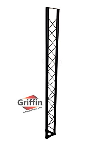 (Triangle Truss Segment Extension by Griffin | 5Ft Extra Trussing Section for DJ Lighting System Stand | Mount Light Cans & Sound Effects for Pro Audio Equipment Gear | Parties, Live Gigs & Stage)