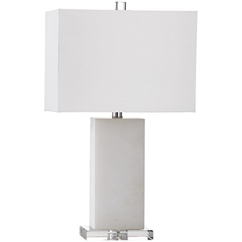 (Safavieh Lighting Collection Martin Marble 24-inch Table Lamp)