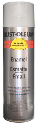 Rust-Oleum V2183838 V2100 System Enamel Spray Paint, 15-Ounce, Light Machine Gray ()