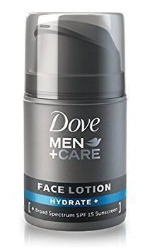 Dove Men+Care Face Lotion Hydrate Plus 1.69 oz 2 ()