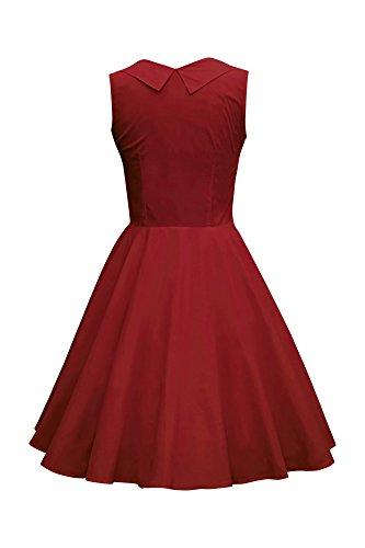 BlackButterfly Vestido Años Classic Rojo Clarity 'Aura' 50 Carmesí ggq67wRrx