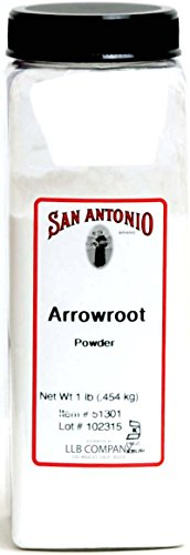 Arrowroot Powder - 1-Pound Premium Ground Arrowroot Powder / Starch / Flour, (Maranta arundinacea)