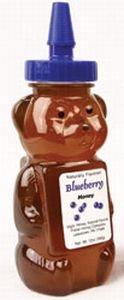 Fisher Honey Honey Bear Blueberry 12oz