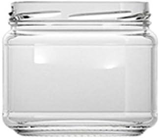 casavetro Claro Tornillo Superior Botellas de Vidrio vacías 300 ml - Tapas giratorias Recargables Reutilizables - Tapa de Metal Ajustada al Aire para Kombucha Home Brewing Gin Aceite (24 x 300 ml)