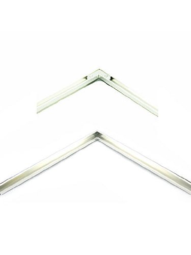 Nielsen Bainbridge Metal Frame Kit silver 19 in.   The Artisan Lounge