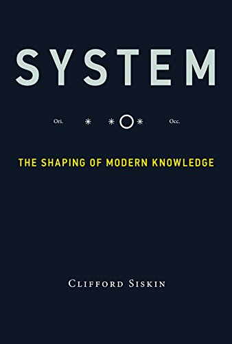 System  The Shaping Of Modern Knowledge  Infrastructures