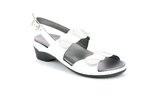 P Grunland Bianco Sandalo SE0381 Dora Donna RRfvIq