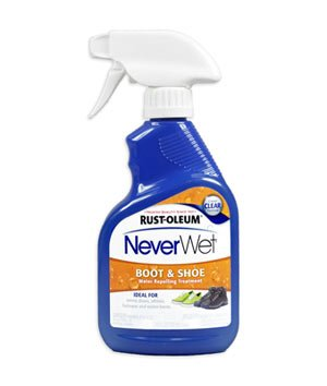 (Rust-Oleum 280886 NeverWet 11-Ounce Boot and Shoe Spray, Clear)