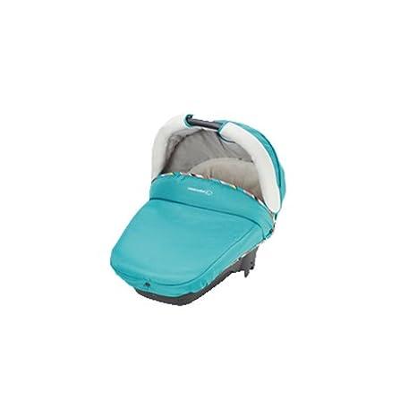 Bébé Confort Streety Plus - Capazo para carrito, homologado coche (0 - 10 kg) turquesa: Amazon.es: Bebé